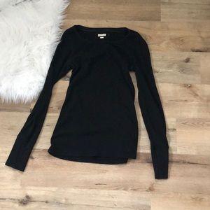 Black Long Sleeved Aerie Thermal